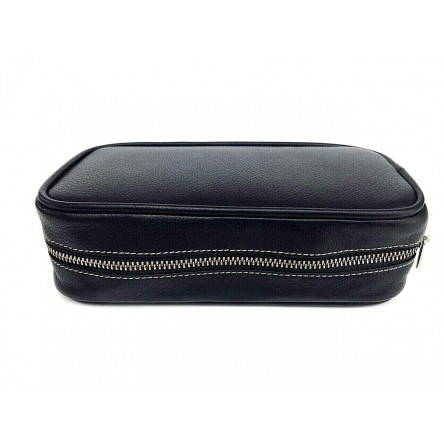 SHPITSER Travel Leather Case For Shaving Gear