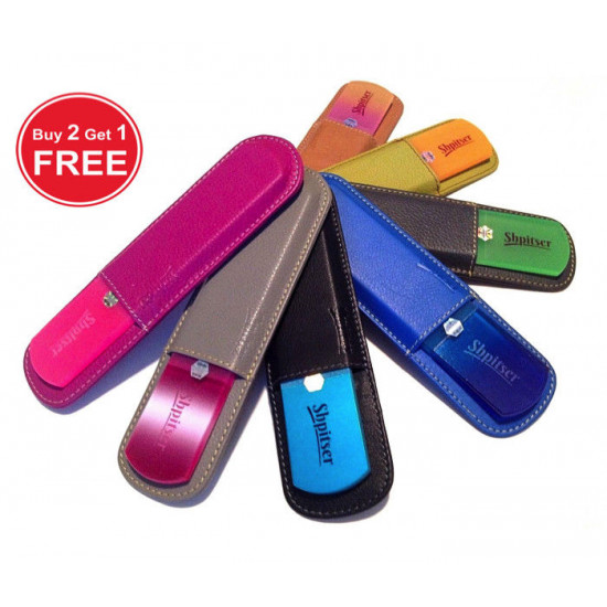 Shpitser High Quality Leather Sleeve for Pedicure Bar Rasp File 16.5 cm, Germany