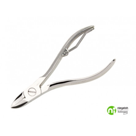 Niegeloh Solingen Nail Nippers Nickel Plated Germany