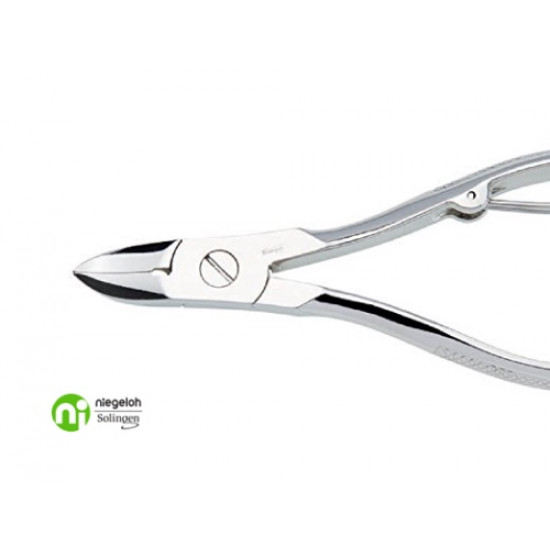 Niegeloh Solingen Nail Nippers Nickel Plated Germany 10cm