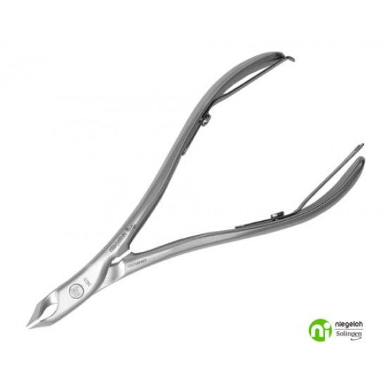 Niegeloh Solingen TopInox Extra Pointed 5mm Jaw Pro Cuticle Nippers Germany