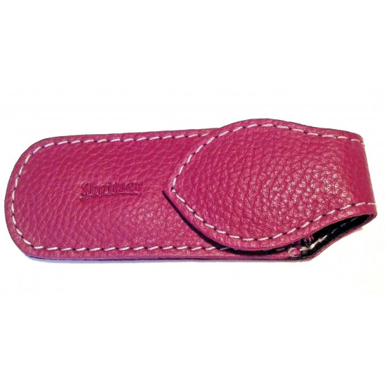 Shpitler 3.5 Inch Pink Leather Case For Toenail Clippers or Nippers